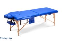 Мебель для салонов красоты  Массажный стол Body Fit складной 2-с бук синий XXL, 70 см