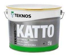 Краска Краска Teknos TeknosPro Katto (9 л)