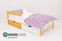 Детская кровать Детская кровать Бельмарко Skogen Classic дерево-белый