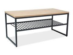 Журнальный столик Signal Penta (дуб/черный)