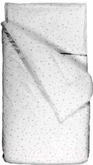 Постельное белье Постельное белье Martoo Comfy B (серые звёзды на белом)