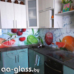 Скинали AA-Glass Скинали 12 из закаленного стекла 6мм + фотопечать (УФ-запекание)