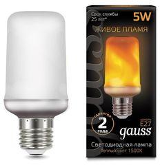 Лампа Лампа Gauss 157402105, E27, T65, 5Вт