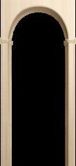 Межкомнатная арка Юркас Милано Беленый дуб