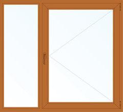 Деревянное окно Дуб 1460*1400, в/с, Г+П
