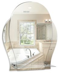 Зеркало Mixline Медео 525465 47x57.5 см без рамы