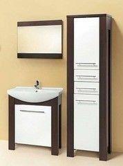 Мебель для ванной комнаты Акваль Латте 75