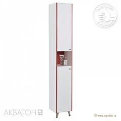 Мебель для ванной комнаты Акватон Шкаф-колонна Роко белый (арт.1A106903RO01L)