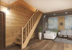 Деревянная лестница Деревянная лестница ИП Сопин А.В. Пример 190