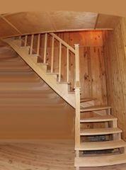 Деревянная лестница Деревянная лестница ИП Сопин А.В. Пример 189