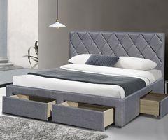 Кровать Кровать Halmar Betina 160 (серый)