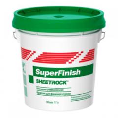 Шпатлевка Шпатлевка Sheetrock SuperFinish (28 кг)