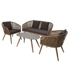 Комплект мебели из ротанга Koopman Palermo Brown