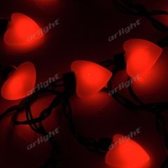 Декоративная светотехника Гирлянда Arlight Гирлянда ARL-HEART-5000-20LED Red (220V, 5W)
