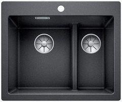 Мойка для кухни Мойка для кухни Blanco Pleon 6 Split (521689) антрацит