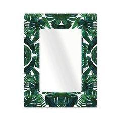 Зеркало Bonessi Tropic Big (сталь, стекло)