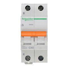 Schneider Electric Автоматический выключатель Домовой ВА63 1П+Н 40A C 4,5 кА 11217
