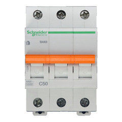 Schneider Electric Автоматический выключатель Домовой ВА63 3П 50A C 4,5 кА 11228