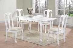 Обеденный стол Обеденный стол Avanti Valencia White (4 стула)