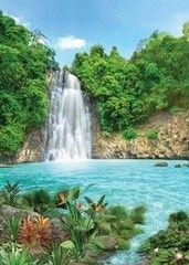 Фотообои Фотообои Твоя планета Тропический водопад
