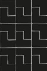 Мозаика Мозаика Vitra Shape Черный