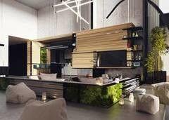 Дизайн квартир и коттеджей Teltsov&partners (Тельцов и партнёры) Интерьер жилого дома товарища К