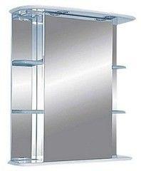 Мебель для ванной комнаты MISTY Зеркало-шкаф Магнолия 65