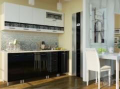 Кухня Кухня БелДрев Новый стиль Город прямая