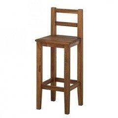 Барный стул Барный стул Стэнлес Прованс со спинкой (бейц-масло)