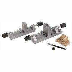 Столярный и слесарный инструмент Wolfcraft Универсальный набор для соединений при помощи дюбелей (дерев. дюбеля, упор, сверло 8мм) Wolfcraft (wlf-3750000)