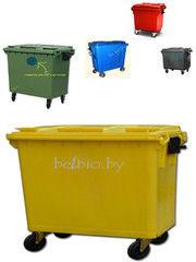 Контейнер, урна БелБиоХаус Мусорный контейнер 1100 литров (цветной)