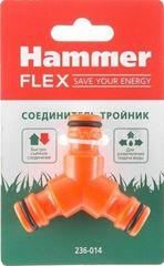 Система автоматического полива Hammer Разветвитель Hammer Соединитель-тройник 236-014