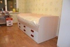 Детская кровать Детская кровать VMM Krynichka с выдвижными ящиками (модель 43)