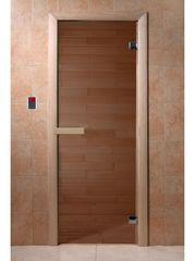 Дверь для бани и сауны Дверь для бани и сауны Doorwood Бронза 700x1900 (хвоя)