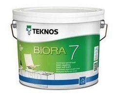 Краска Краска Teknos Biora 7 (9 л) база 1