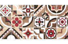 Плитка Плитка Керамин Панно Дюна 1 тип 2 светло-коричневый 60х30