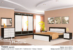 Спальня Союз-Мебель Токио (вудлайн) шкаф-купе