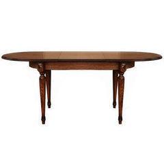 Обеденный стол Обеденный стол Пинскдрев Милана 10 П313.02 (черешня с золочением)
