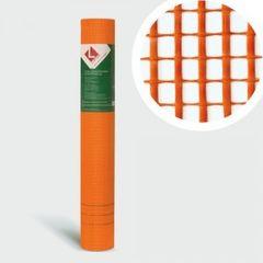 Стеклосетка, серпянка Lihtar Штукатурная оранжевая Diy (яч.5x5мм, 1x50м)