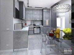 Дизайн гостиной ИП Сайдакова Ю.А. Проект 5