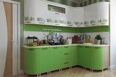 Кухня Кухня БелДрев Новый стиль Лайм угловая