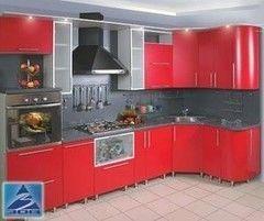 Кухня Кухня на заказ ЗОВ Тип «система» с покрытием краской 162 матовая