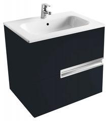 Мебель для ванной комнаты Roca Тумба Victoria Nord Black Edition 60 см (ZRU9000096) черная