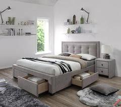 Кровать Кровать Halmar Evora бежевая
