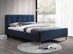 Кровать Кровать Signal Pinko 160х200 (темно-синяя)