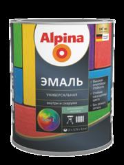 Эмаль Эмаль Alpina универсальная База 3 шелковисто-матовая (0.75 л)