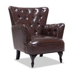 Кресло Кресло Halmar Cubano (темно-коричневый)