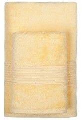 Полотенце Полотенце TAC Maison Bamboo желтое 50х90