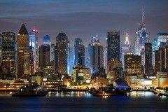 Фотообои Фотообои Vimala Ночь над Манхеттеном