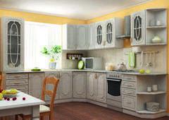 Кухня Кухня Интерьер-Центр Настя жемчужина угловая